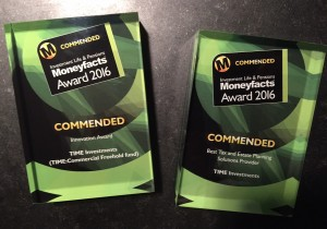 Commended - Moneyfacts Awards 2016